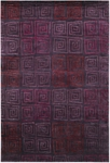 Couristan Pokhara 9950/0131 Serpentine Plum Closeout Area Rug - Spring 2011