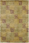 Couristan Pokhara 9950/0145 Serpentine Gold Dust Closeout Area Rug - Spring 2011
