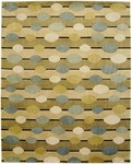 Bashian Tribeca A134 P289 Geospheres Beige Closeout Area Rug