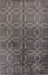 Bashian Tribeca A148 WV103 Pewter Closeout Area Rug