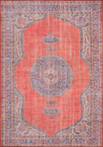 Momeni Afshar AFS-12 Red Area Rug