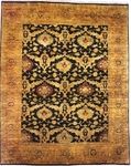 Kalaty Agra AG-340 Black/Gold Closeout Area Rug