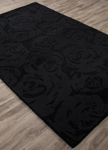 Jaipur Astor AKN01 Rose Garden Black Area Rug