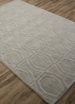 Jaipur Astor AKN10 Bow Tile Platinum Area Rug
