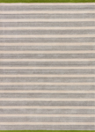 Jaipur Astor AKN17 Mariner Stripe Gray & Picnic Green Area Rug