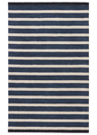 Jaipur Astor AKN18 Mariner Stripe Black & Navy Area Rug