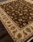 Jaipur Atlantis AL02 Bhoomi Cocoa Brown/Sand Closeout Area Rug - Fall 2012