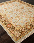 Jaipur Atlantis AL05 Pani Ice Blue & Tobacco Closeout Area Rug