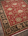 Jaipur Atlantis AL08 Shiva Red/Ebony Closeout Area Rug - Fall 2012