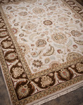 Jaipur Atlantis AL09 Sonoma Dark Ivory/Tobacco Closeout Area Rug - Fall 2012