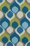 Dalyn Aloft AL14 Teal Area Rug