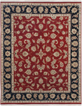 Jaipur Atlantis AL17 Bhoomi Red/Ebony Closeout Area Rug