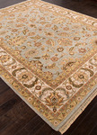 Jaipur Atlantis AL19 Jhanki Ice Blue/Dark Ivory Closeout Area Rug