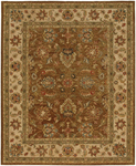 Jaipur Ananda AN08 Tapas Gold Brown/Dark Ivory Closeout Closeout Area Rug