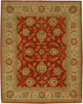 Jaipur Ananda AN10 Tapas Red Oxide/Medium Gold Closeout Area Rug
