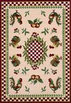 Dalyn Avalon AN616 Red Closeout Area Rug - Spring 2011
