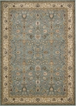 Kathy Ireland Antiquities ANT04 SLTBL Royal Countryside Slate Blue Area Rug