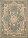 Kathy Ireland Antiquities ANT06 SLTBL Imperial Garden Slate Blue Area Rug