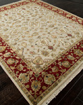 Jaipur Aurora AR03 Edonia Medium Ivory/Red Closeout Area Rug - Fall 2013