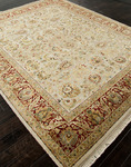 Jaipur Aurora AR08 Sonja Medium Ivory/Red Closeout Area Rug - Spring 2014