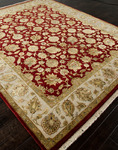 Jaipur Aurora AR12 Nephi Medium Red/Medium Ivory Closeout Area Rug