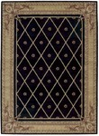 Nourison Ashton House AS03 BLK Black Area Rug