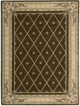 Nourison Ashton House AS03 BRN Brown Closeout Area Rug