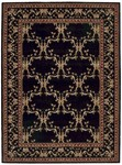 Nourison Ashton House AS07 BLK Black Closeout Area Rug