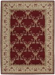 Nourison Ashton House AS07 BUR Burgundy Closeout Area Rug