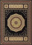 Nourison Ashton House AS24 BLK Black Closeout Area Rug