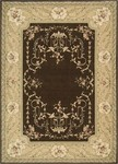 Nourison Ashton House AS36 BRN Brown Closeout Area Rug