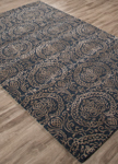 Jaipur Ashland ASH03 Seeley Midnight Navy & Safari Closeout Area Rug