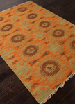 Jaipur Anatolia AT09 Revert Jaffa Orange & Cedar Closeout Area Rug
