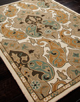 Jaipur Barcelona Indoor-Outdoor BA05 Hoja Cashew/Cashew Closeout Area Rug - Fall 2013
