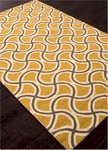 Jaipur Barcelona Indoor-Outdoor BA28 Barbells Bananna & Ermine Closeout Area Rug