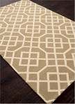 Jaipur Barcelona Indoor-Outdoor BA48 Belvedere Warm Sand & Turtle Dove Closeout Area Rug