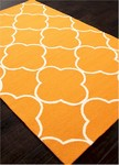 Jaipur Barcelona Indoor-Outdoor BA65 Sparten Orange Ochre & Chino Green Closeout Area Rug