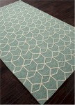 Jaipur Barcelona Indoor-Outdoor BA67 Estrellas Cloud Cream & Beryl Green Area Rug