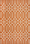 Momeni Baja BAJ-03 Orange Area Rug