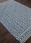 Jaipur Batik BAT03 Lahu Dark Denim & Silver Green Area Rug