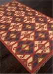 Jaipur Bedouin BD23 Zafer Zinfandel & Wood Thrush Closeout Area Rug