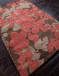 Jaipur Blue BL02 Orchid Cocoa Brown/Red Ochre Closeout Area Rug - Spring 2014