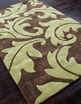 Jaipur Blue BL10 Aloha Java/Oasis Green Closeout Area Rug - Spring 2014
