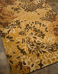 Jaipur Blue BL13 Hedgerow Dark Amber Gold/Dark Amber Gold Closeout Area Rug