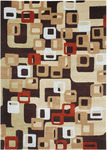Jaipur Blue BL17 Boxed In Deep Espresso/Deep Espresso Closeout Area Rug