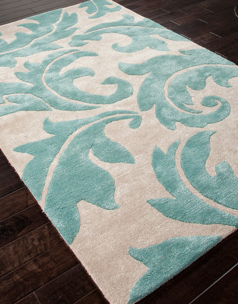 Jaipur Blue Bl82 Aloha Rainy Day Amp Reef Waters Area Rug