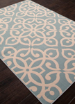 Jaipur Bloom BLO13 Scrolled Blue Surf & Birch Area Rug