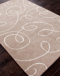 Jaipur Baroque BQ13 Florence Silver/Antique White Closeout Area Rug - Spring 2014