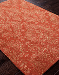 Jaipur Baroque BQ14 Holbein Orange Rust/Orange Rust Closeout Area Rug - Fall 2013