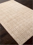 Jaipur Baroque BQ22 Rembrandt Silver & Antique White Closeout Area Rug